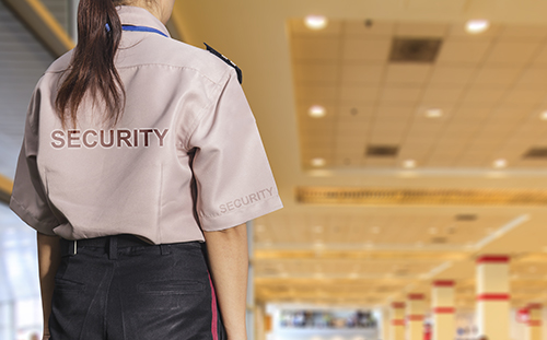 Providing security services