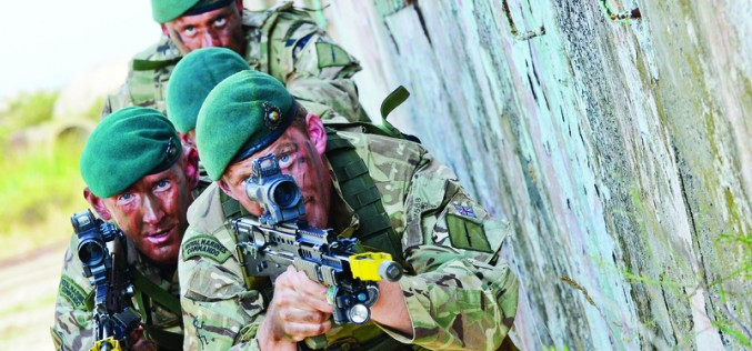 Royal Navy: What it takes to join the Royal Marines