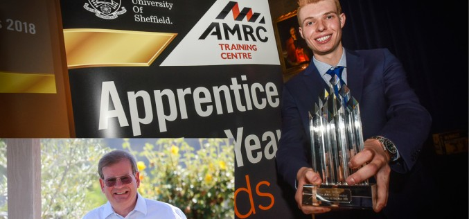 Silicon Valley CEO celebrates engineering talent of tomorrow at AMRC Training Centre awards