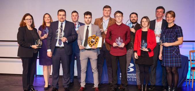 Bridgwater & Taunton College celebrates top apprentices
