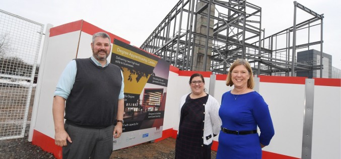 Work continuing for University of Warwick's new WMG Degree Apprenticeship Centre