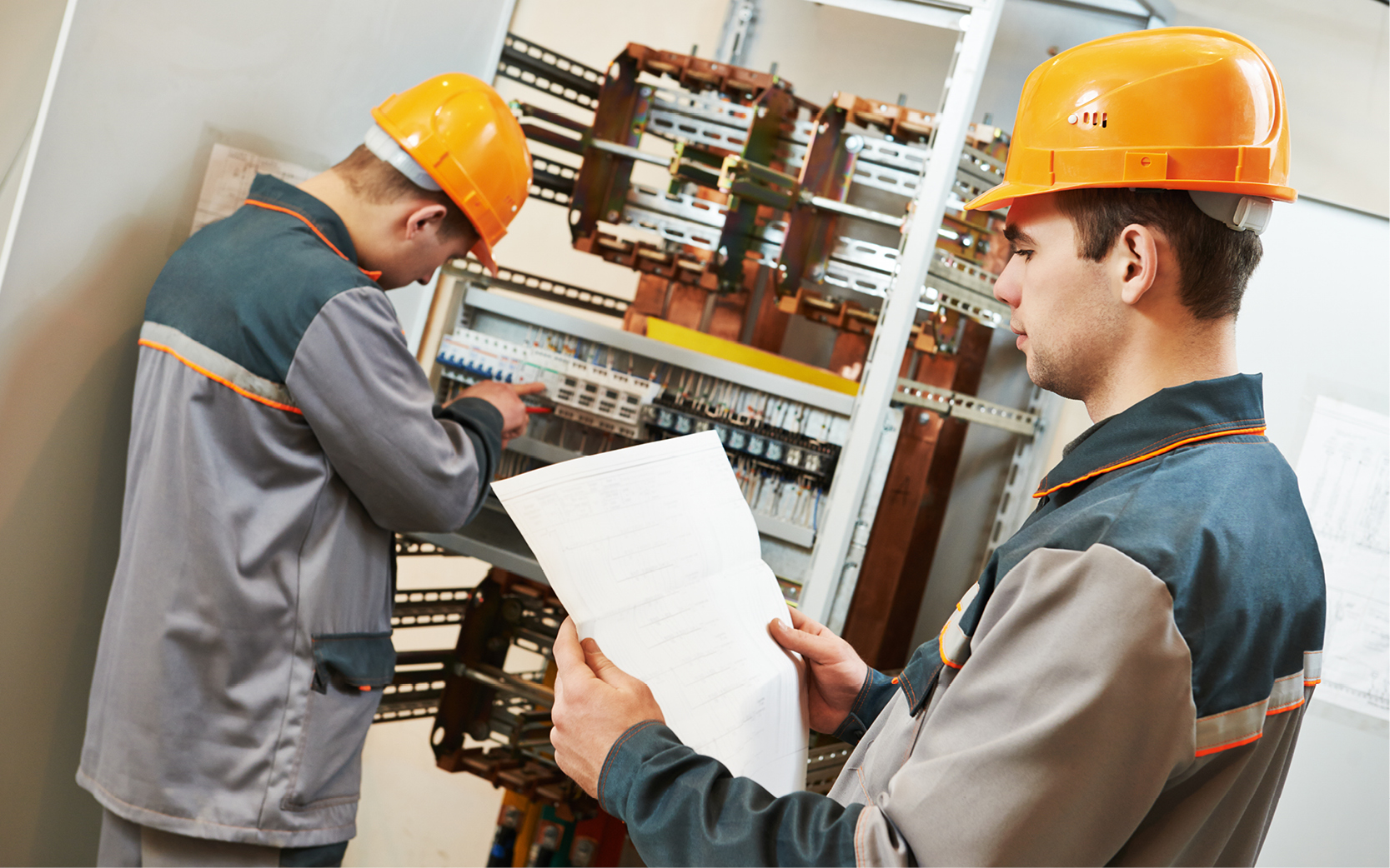 Building services engineering ductwork installer
