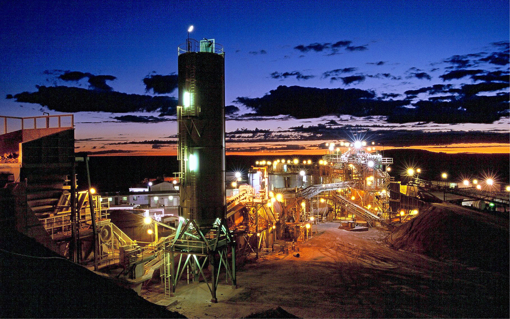Mineral processing weighbridge operator