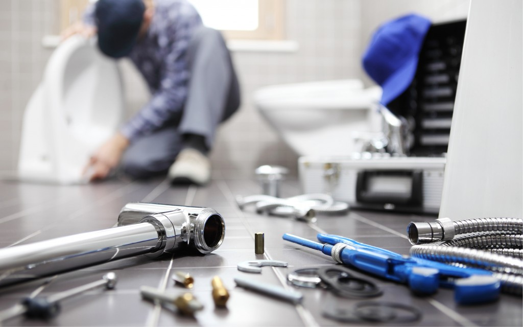 Plumbing and domestic heating technician
