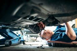 Heavy vehicle service and maintenance technician