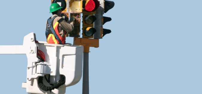 Highway electrical maintenance and installation operative