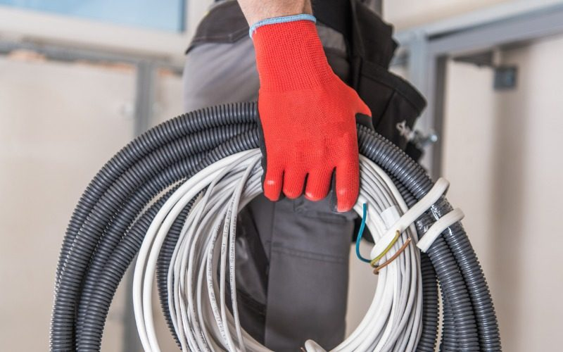 Network cable installer