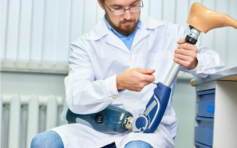 Prosthetic and orthotic technician