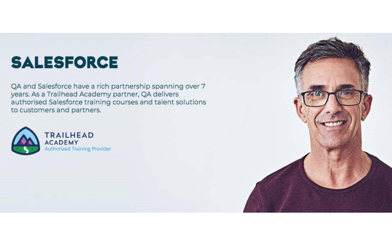 Tech skills and talent provider QA launches three apprenticeship programmes with Salesforce