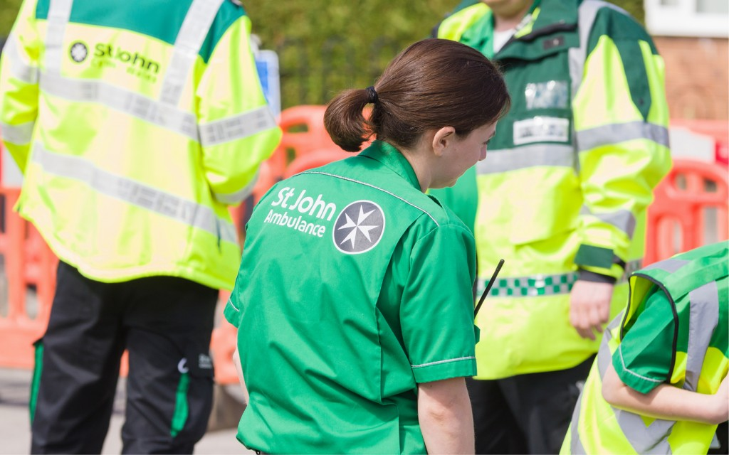 Ambulance support worker